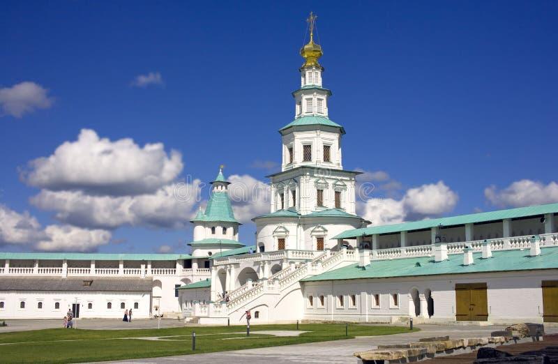新的耶路撒冷修道院 免版税库存照片