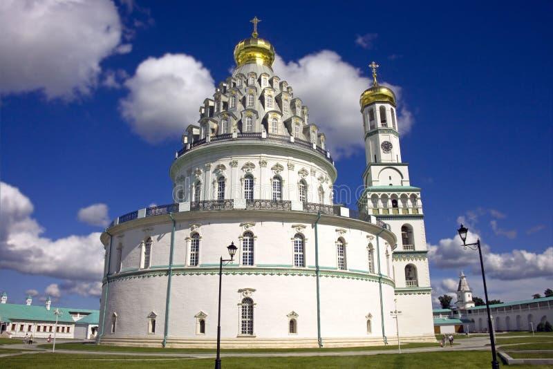新的耶路撒冷修道院 图库摄影