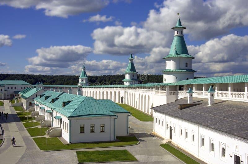 新的耶路撒冷修道院 库存图片