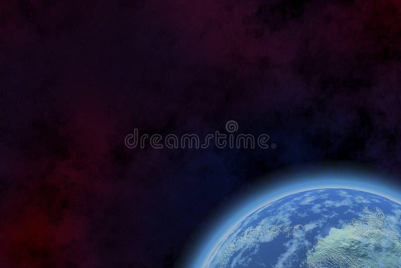 新的行星 免版税库存照片