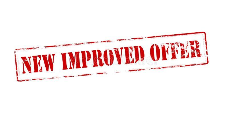 新的被改进的提议 向量例证