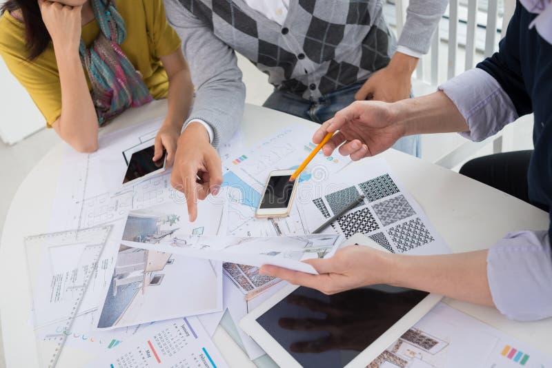 新的计划项目 免版税库存图片