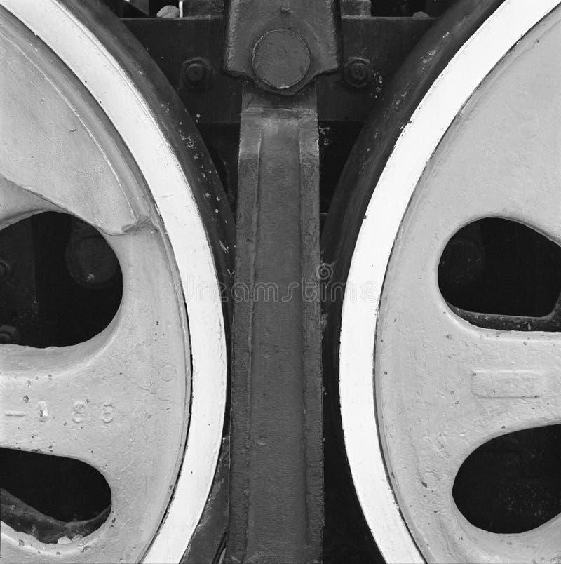 新的轮子 免版税图库摄影