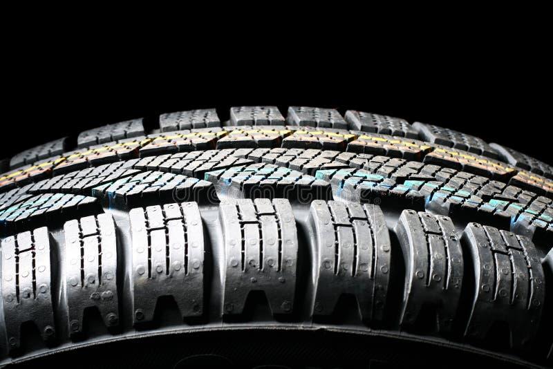 新的轮胎冬天 免版税库存照片