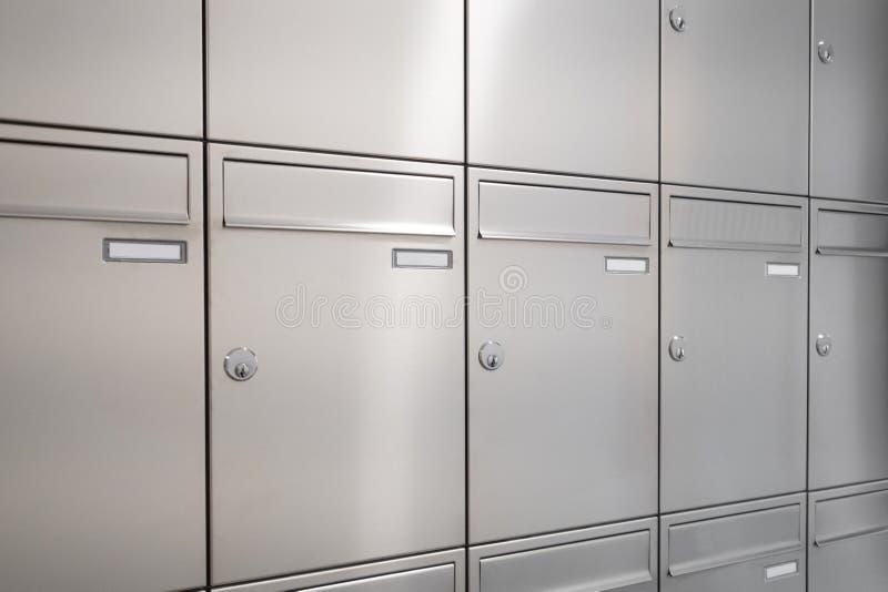 新的邮箱 免版税库存照片
