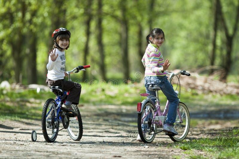 新的骑自行车的人 免版税库存照片