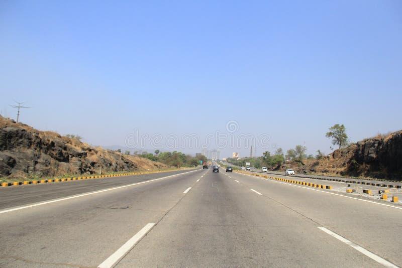新的高速公路在印度 图库摄影