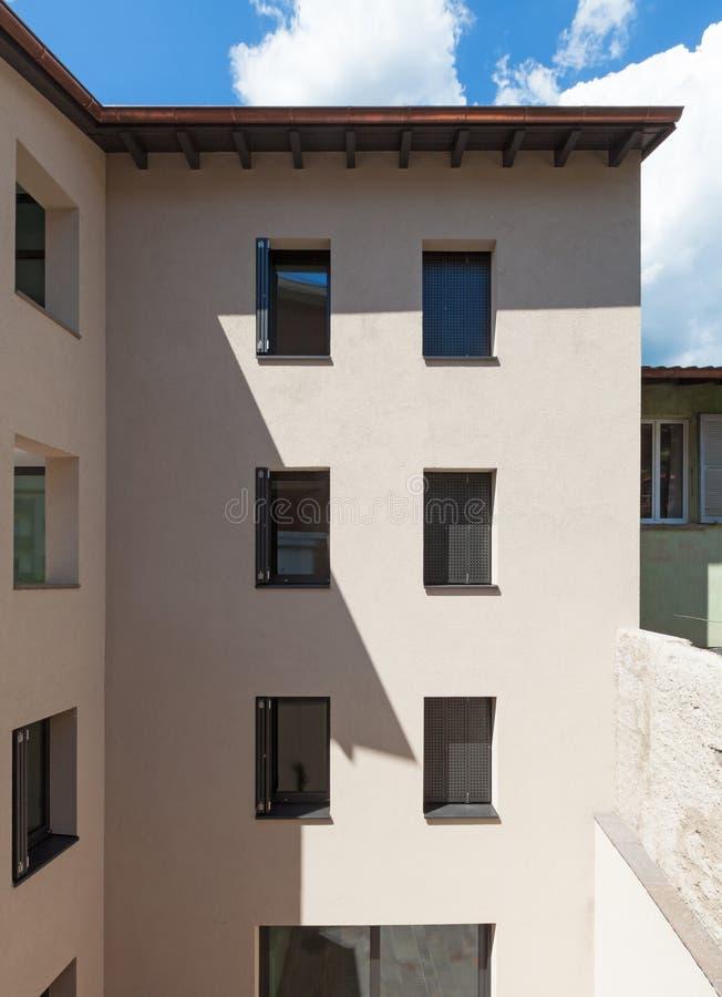 新的建筑学 免版税库存照片