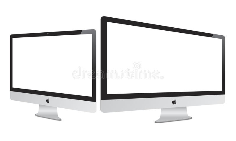 新的2012年Apple Imac 库存例证