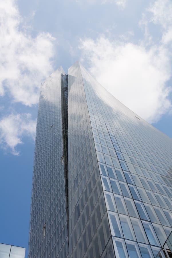 新的Azrieli大厦在特拉维夫 库存图片