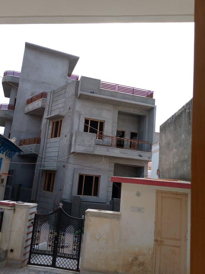 新的disine在拉贾斯坦marwad的家 免版税库存照片