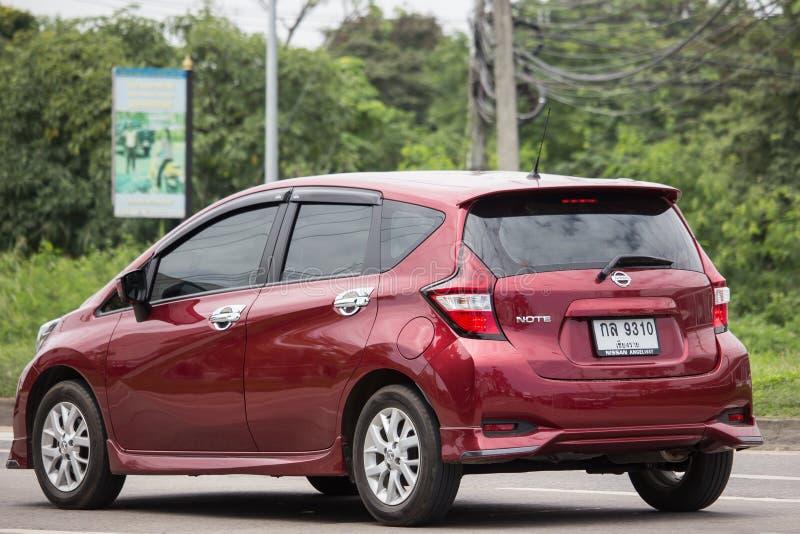 新的Eco汽车日产注意 免版税图库摄影