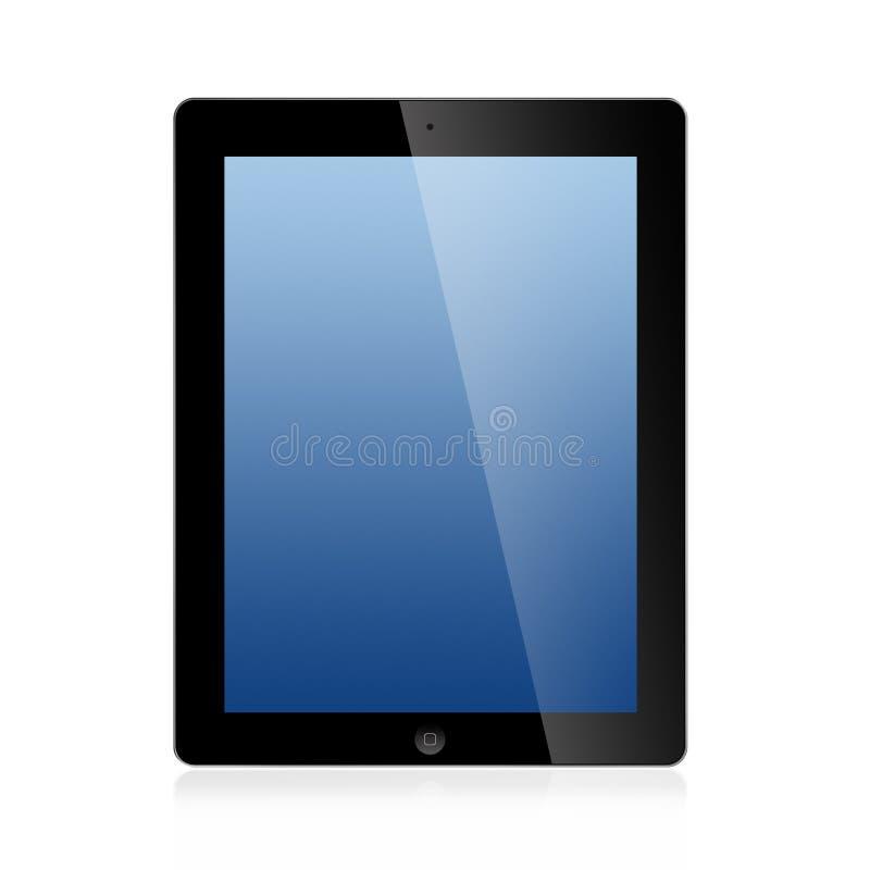 新的Ipad (在空白背景3)查出的Ipad 库存照片