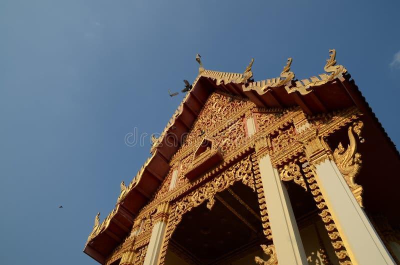新的temple1 免版税库存照片