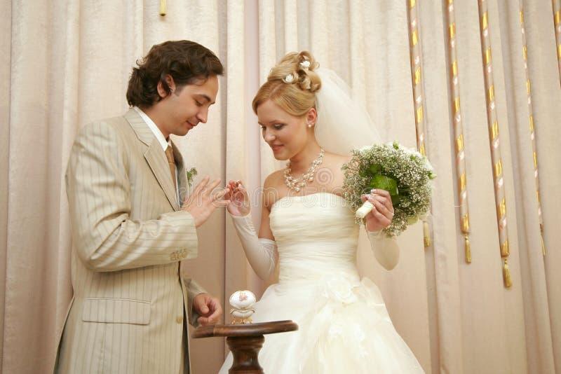 新结婚 免版税库存图片
