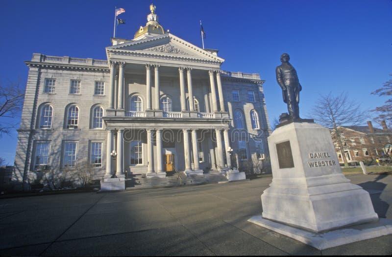 新罕布什尔的状态国会大厦, 免版税库存照片