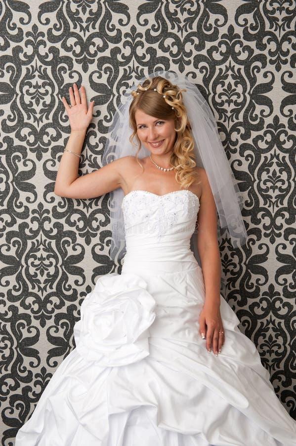 新美丽的新娘 库存照片