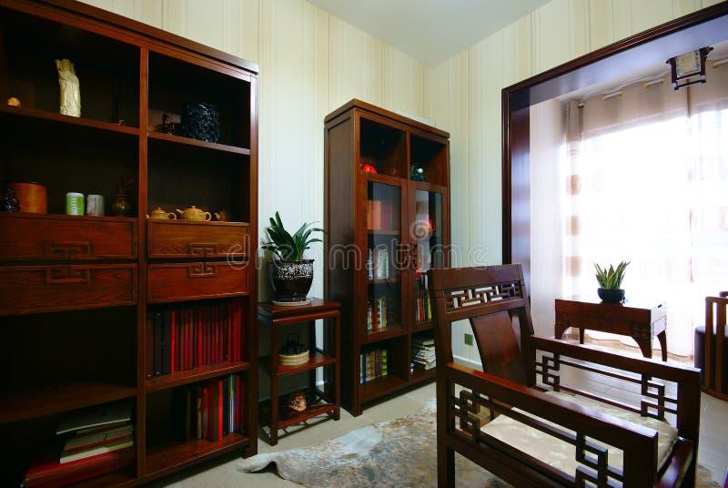 新美好的装饰的家 免版税库存图片