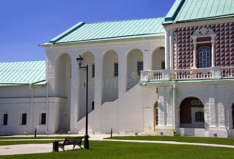 新耶路撒冷,俄罗斯是一个圣地香客正统修道院修士细胞 库存照片
