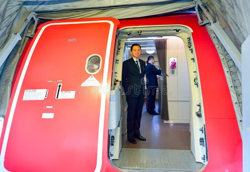 新航乘员组 库存照片