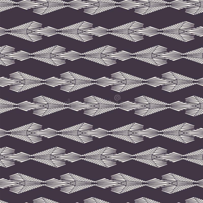 新艺术主义装饰主题镶边Jugendstil样式 r 减速火箭的蔓藤花纹纺织品样片 装饰艺术 向量例证