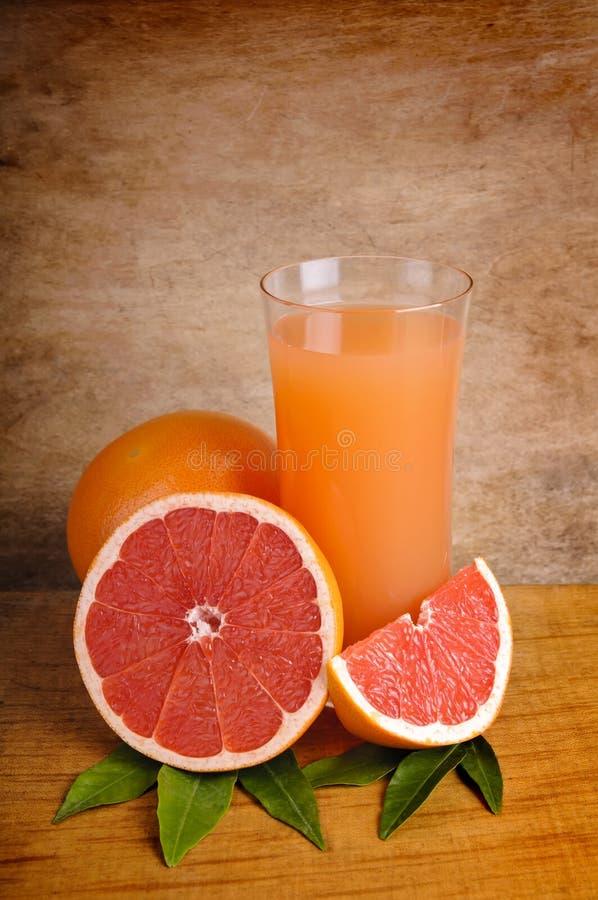 新葡萄柚汁粉红色 免版税库存照片