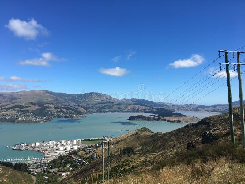 新西兰城区 库存照片