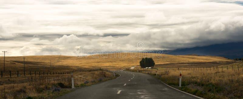 新西兰的看法 库存照片
