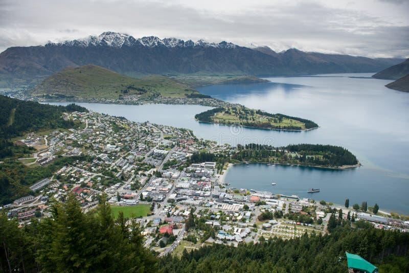 新西兰的风景 库存图片