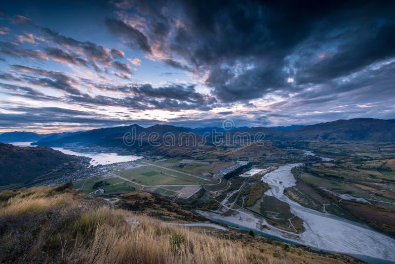 新西兰视图 库存照片