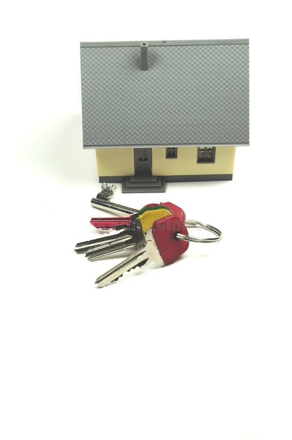 新采购的房子 免版税库存照片