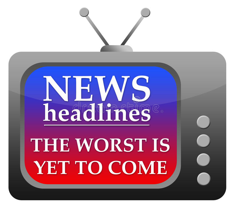 新闻标题 向量例证
