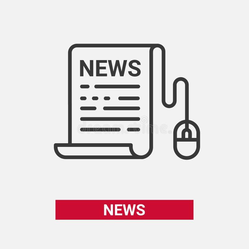 新闻-现代传染媒介线设计唯一象 皇族释放例证