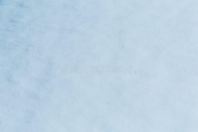 新雪纹理背景在蓝色口气的 库存例证