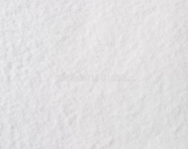 新雪纹理 免版税库存图片