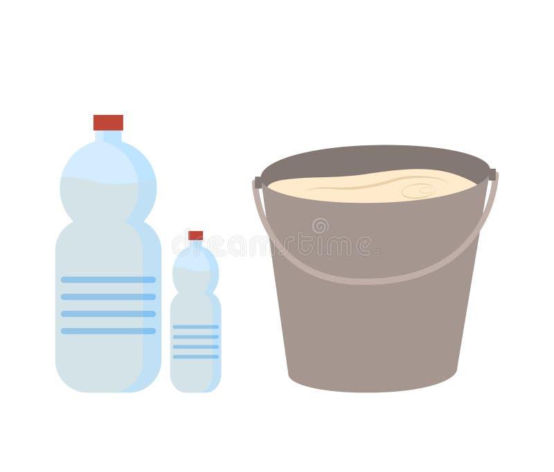 新饮料,乡下乳制品传染媒介 皇族释放例证
