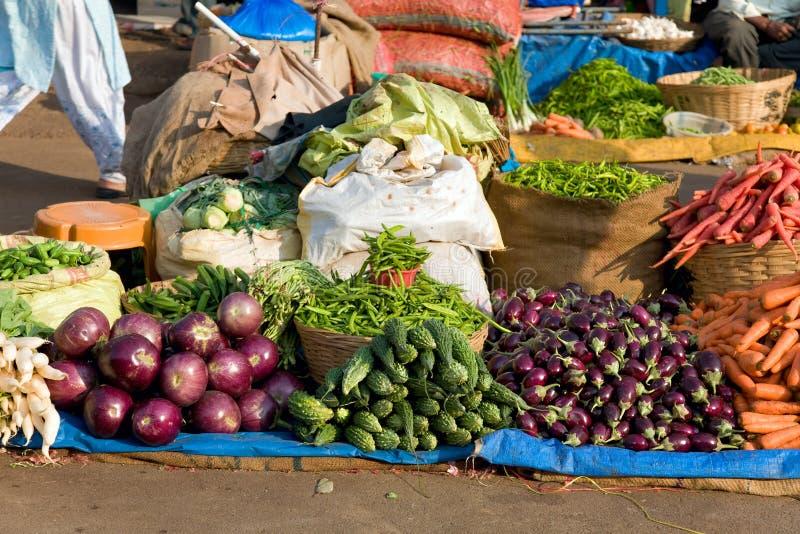 新鲜市场蔬菜 库存照片