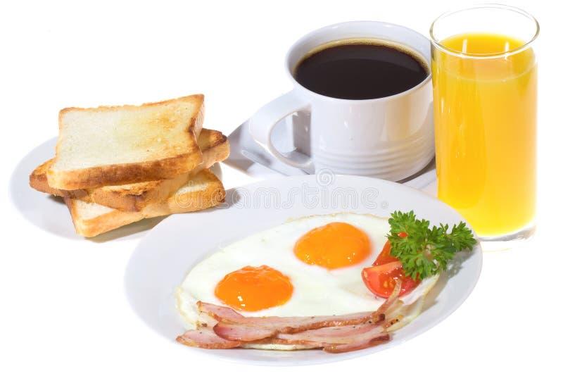 新鲜早餐 免版税库存照片