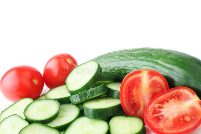 新鲜的健康蔬菜 免版税库存照片