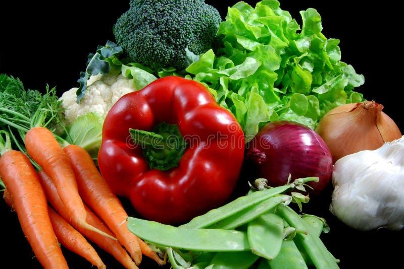 新鲜的健康蔬菜 库存图片