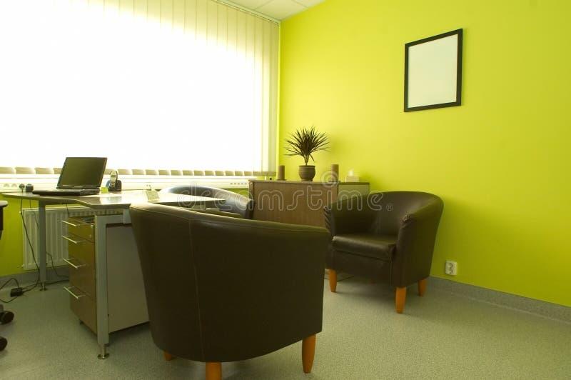 新鲜的内部办公室 库存照片