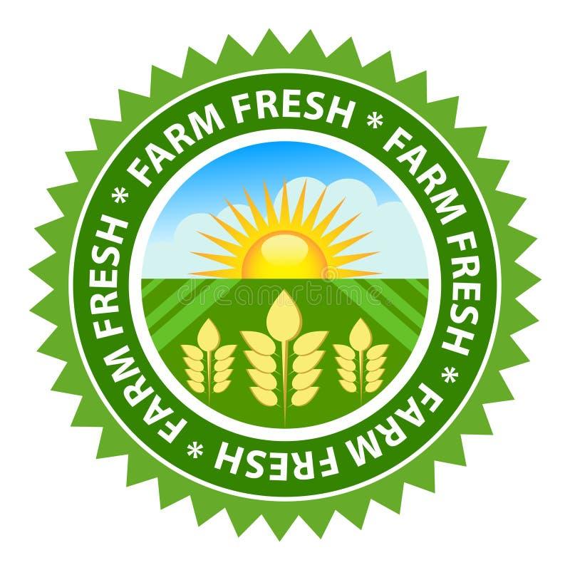 新鲜的农场 向量例证