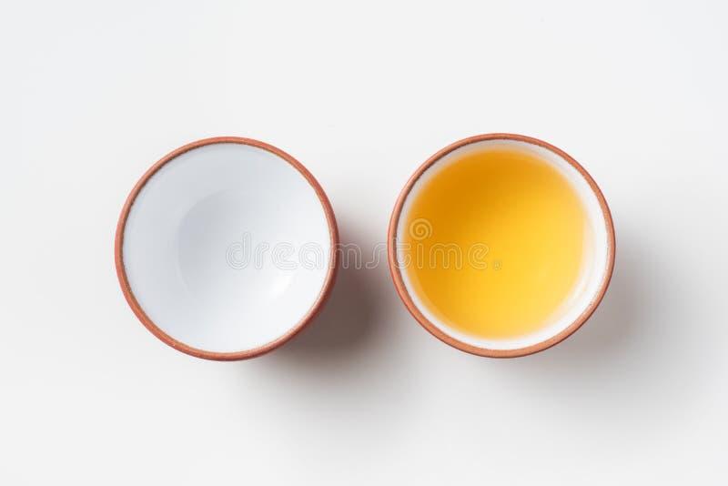 新鲜的台湾oolong茶 免版税库存照片