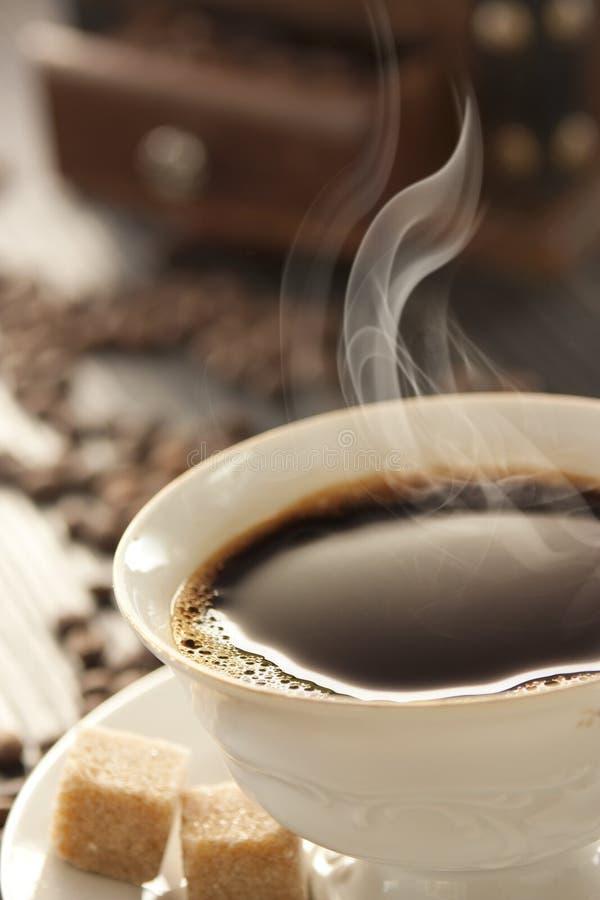 新鲜的咖啡杯 库存照片