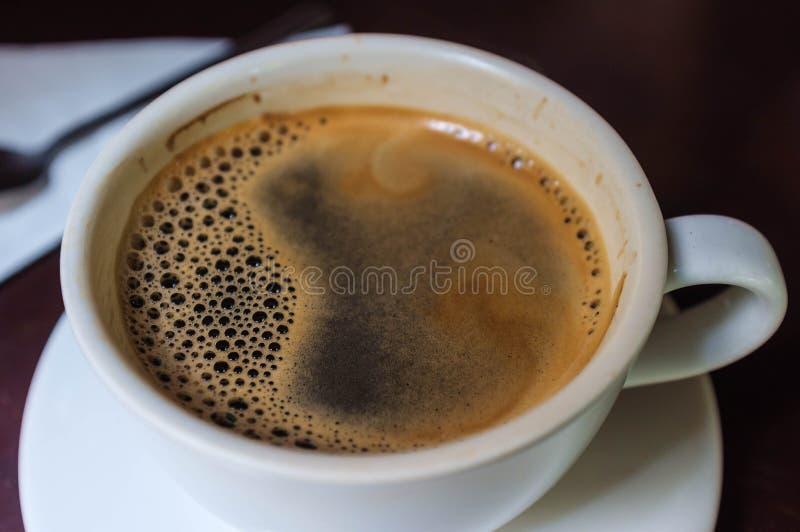 新鲜的咖啡 图库摄影