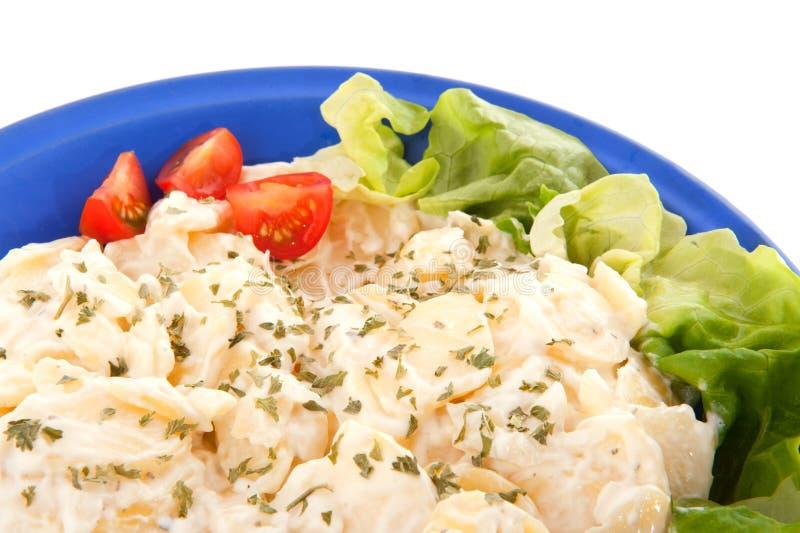 新鲜的土豆沙拉素食主义者 库存照片