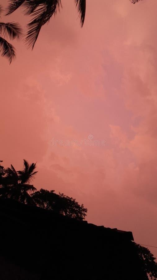新鲜的天空 免版税库存照片