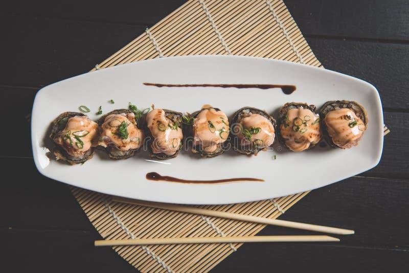 新鲜的寿司 免版税库存照片
