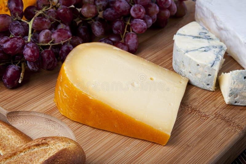 新鲜的干酪 图库摄影