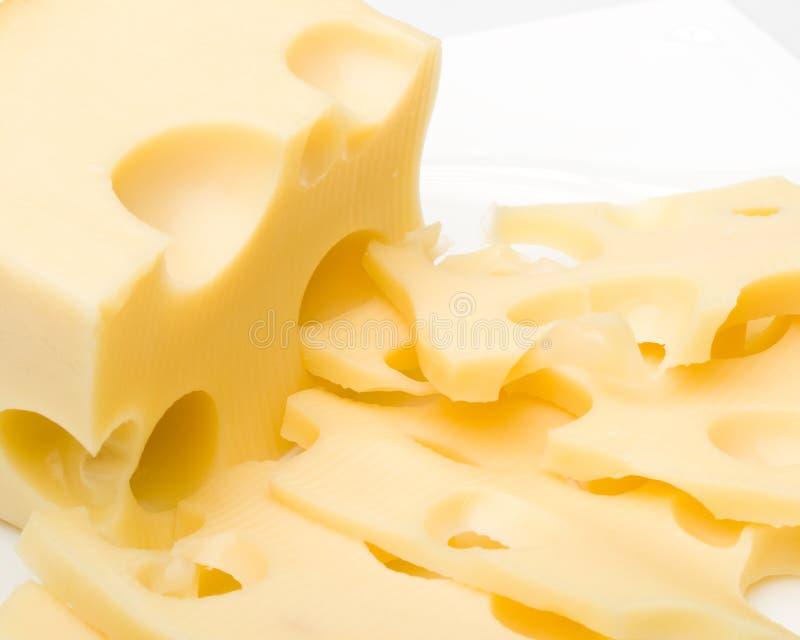 新鲜的干酪 免版税库存图片